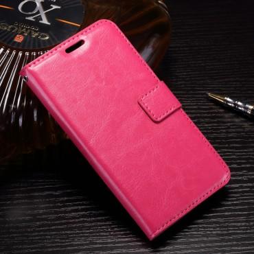 """Divatos """"Smooth"""" tárca Huawei P10 Lite készülékekhez – rózsaszín"""