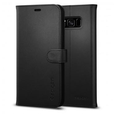 """Spigen """"Wallet S"""" tárca Samsung Galaxy S8 Plus készülékekhez – fekete"""