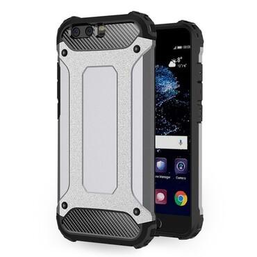 """Strapabíró """"Rock"""" védőtok Huawei P10 készülékekhez – szürke"""