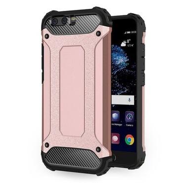 """Strapabíró """"Rock"""" védőtok Huawei P10 készülékekhez – rózsaszín"""