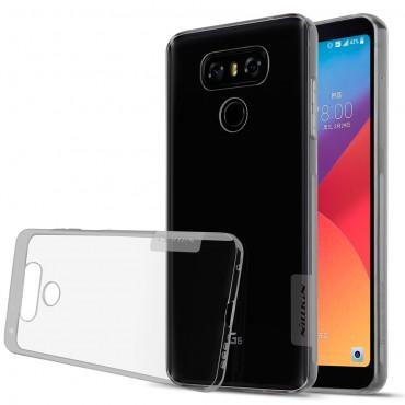 """Prémium vékony tok """"Nature"""" LG G6 készülékekhez - átlátszó"""