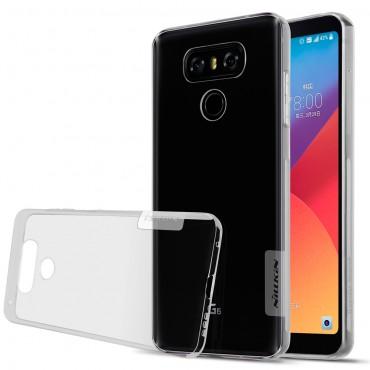 """Vékony """"Nature"""" prémium védőtok LG G6 készülékekhez - szürke"""