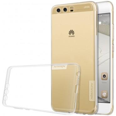 """Prémium vékony tok """"Nature"""" Huawei P10 készülékekhez - átlátszó"""