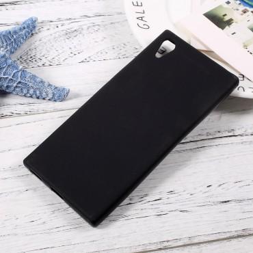TPU géles védőtok Sony Xperia XA1 készülékekhez – fekete