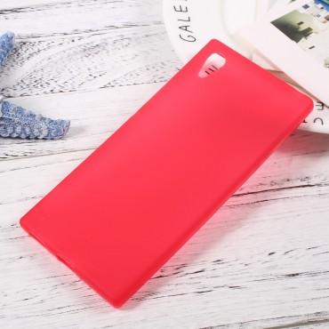 TPU géles védőtok Sony Xperia XA1 készülékekhez – piros