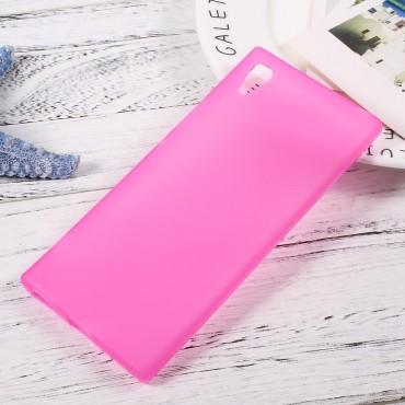 TPU géles védőtok Sony Xperia XA1 készülékekhez – rózsaszín