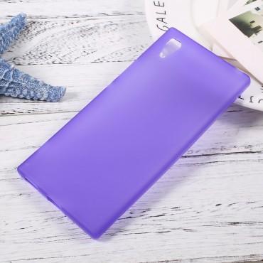 TPU géles védőtok Sony Xperia XA1 készülékekhez – lila
