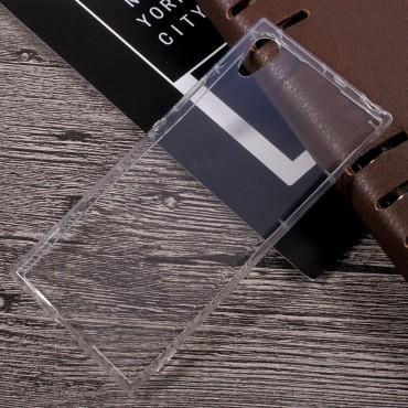 TPU géles védőtok Sony Xperia XA1 készülékekhez – átlátszó