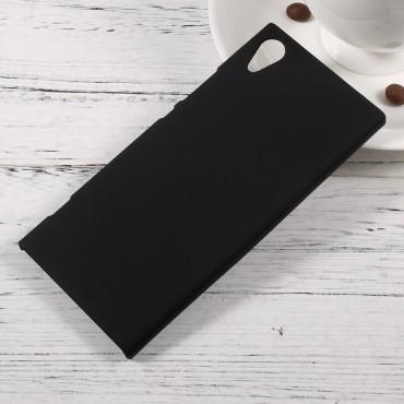 Kemény TPU védőtok Sony Xperia XA1 készülékekhez – fekete