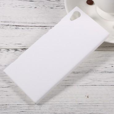 Kemény TPU védőtok Sony Xperia XA1 készülékekhez – fehér