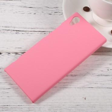Kemény TPU védőtok Sony Xperia XA1 készülékekhez – rózsaszín