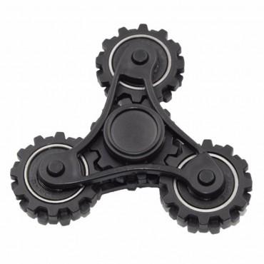 """Fidget spinner """"Gear"""" - fekete"""