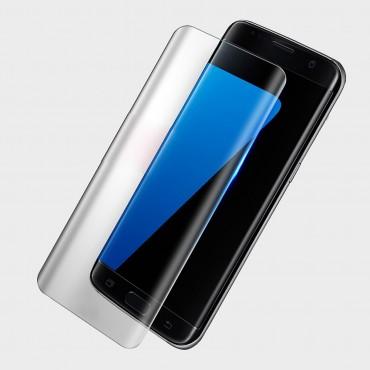 Magas minőségű Full Body Amorus védő üveg Samsung Galaxy S8 Plus telefonokhoz - átlátszó