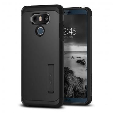 """Tok Spigen """"Tough Armor"""" LG G6 készülékekhez - black"""
