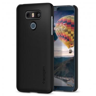 """Spigen """"Thin Fit"""" védőtok LG G6 készülékhez – fekete"""
