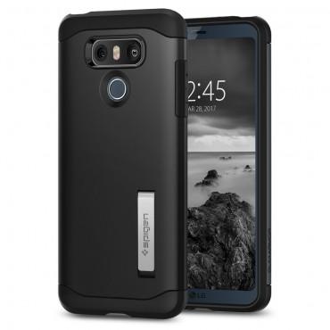 """Tok Spigen """"Slim Armor"""" LG G6 készülékekhez - black"""