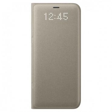 "Eredeti Samsung ""LED View"" védőtok Samsung Galaxy S8 - aranyszínű"