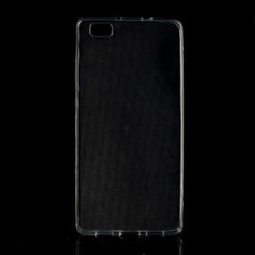 TPU gél tok Huawei P8 Lite készülékekhez - átlátszó