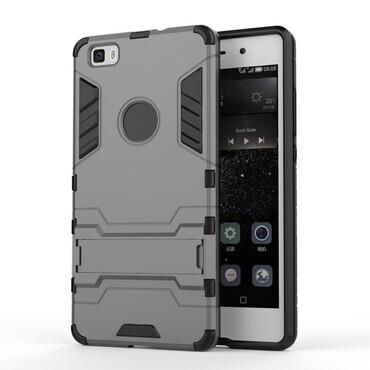 """Strapabíró """"Impact X"""" védőtok Huawei P8 Lite készülékekhez – szürke"""