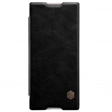 """Elegáns nyitható tok """"Qin"""" Sony Xperia XA1 készülékekhez - fekete"""