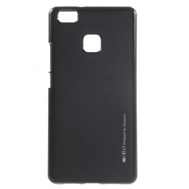 Goospery iJelly Case TPU géles védőtok Huawei P10 Lite készülékekhez – fekete