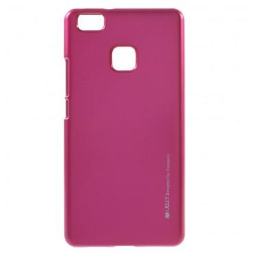 Goospery iJelly Case TPU géles védőtok Huawei P10 Lite készülékekhez – magenta