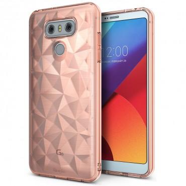 "Ringke ""Air Prism"" borító LG G6 telefonokhoz - rose gold"