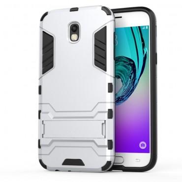 """Strapabíró """"Impact X"""" védőtok Samsung Galaxy J5 2017 készülékekhez – ezüstszínű"""