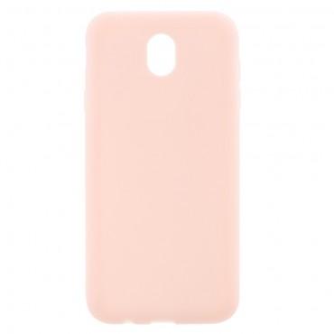 TPU gél tok Samsung Galaxy J7 2017 készülékekhez - rózsaszín