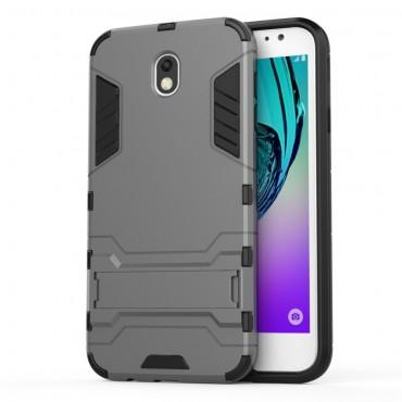 """Strapabíró """"Impact X"""" védőtok Samsung Galaxy J7 2017 készülékekhez – szürke"""