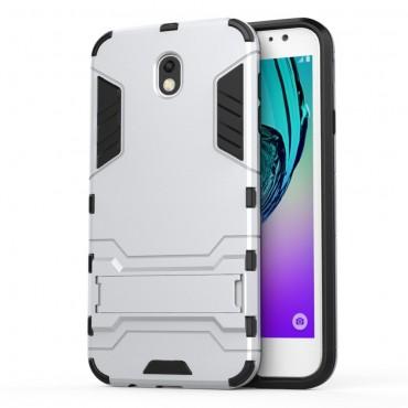 """Strapabíró """"Impact X"""" védőtok Samsung Galaxy J7 2017 készülékekhez – ezüstszínű"""