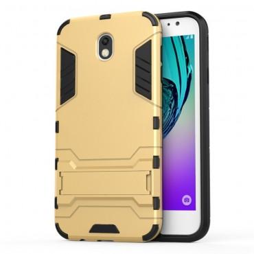 """Strapabíró """"Impact X"""" védőtok Samsung Galaxy J7 2017 készülékekhez – aranyszínű"""