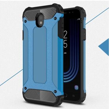 """Strapabíró """"Rock"""" védőtok Samsung Galaxy J7 2017 készülékekhez – kék"""