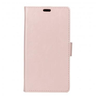 """Divatos """"Smooth"""" tárca Samsung Galaxy J7 2017 készülékekhez – rózsaszín"""