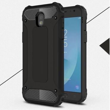 """Strapabíró """"Rock"""" védőtok Samsung Galaxy J5 2017 készülékekhez – fekete"""
