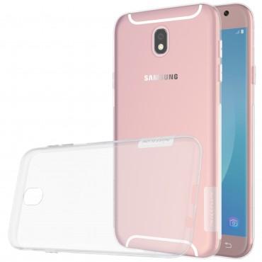 """Prémium vékony tok """"Nature"""" Samsung Galaxy J5 2017 készülékekhez - átlátszó"""