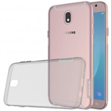 """Prémium vékony tok """"Nature"""" Samsung Galaxy J5 2017 készülékekhez - szürke"""