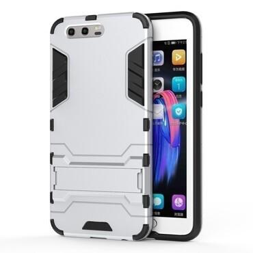 """Strapabíró """"Impact X"""" védőtok Huawei Honor 9 / Honor 9 Premium készülékekhez – ezüstszínű"""