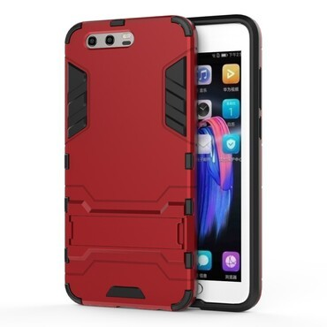 """Strapabíró """"Impact X"""" védőtok Huawei Honor 9 / Honor 9 Premium készülékekhez – piros"""