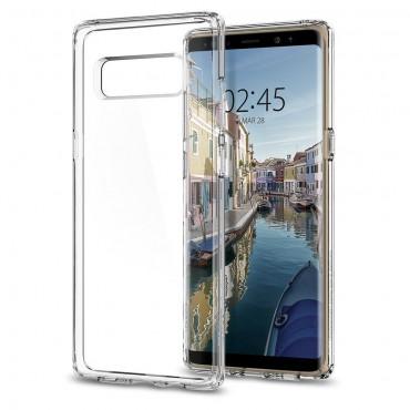 """Spigen """"Ultra Hybrid"""" védőtok Samsung Galaxy Note 8 készülékhez – crystal clear"""