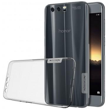 """Prémium vékony tok """"Nature"""" Huawei Honor 9 / Honor 9 Premium készülékekhez - szürke"""