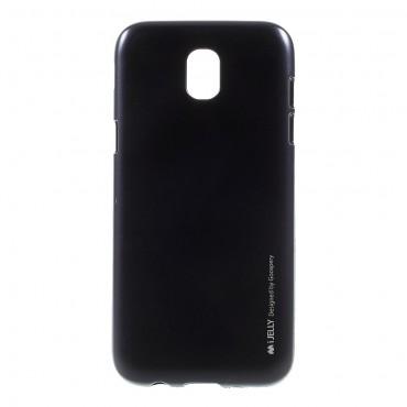 Goospery iJelly Case TPU géles védőtok Samsung Galaxy J5 2017 készülékekhez – fekete