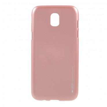 Goospery iJelly Case TPU géles védőtok Samsung Galaxy J5 2017 készülékekhez – rózsaszín
