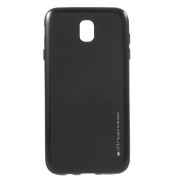 Goospery iJelly Case TPU géles védőtok Samsung Galaxy J7 2017 készülékekhez – fekete