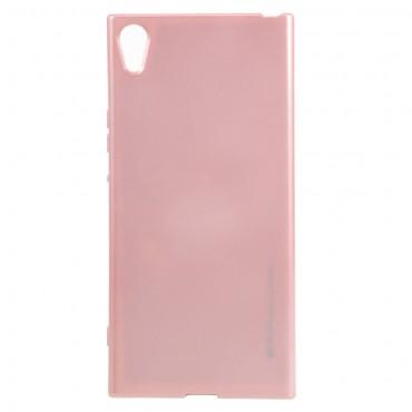 Goospery iJelly Case TPU géles védőtok Sony Xperia XA1 készülékekhez – rózsaszín