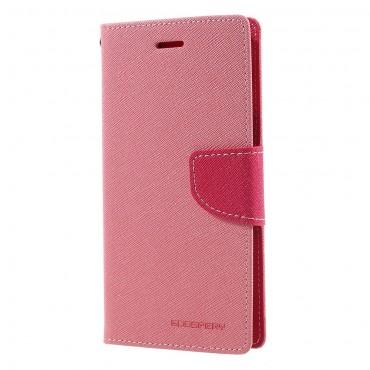 Goospery Fancy Diary tárca Samsung Galaxy J7 2017 készülékekhez – rózsaszín