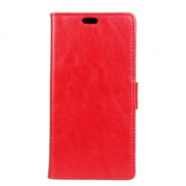 """Divatos """"Smooth"""" tárca LG Q6 készülékekhez - piros"""