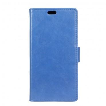 """Divatos """"Smooth"""" tárca LG Q6 készülékekhez - kék"""