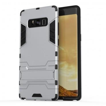 """Strapabíró """"Impact X"""" védőtok Samsung Galaxy Note 8 készülékekhez – ezüstszínű"""