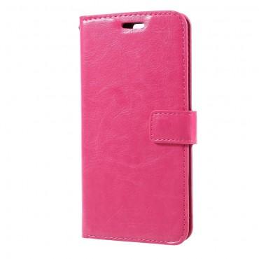 """Divatos """"Smooth"""" tárca Huawei Honor 9 / Honor 9 Premium készülékekhez – rózsaszín"""